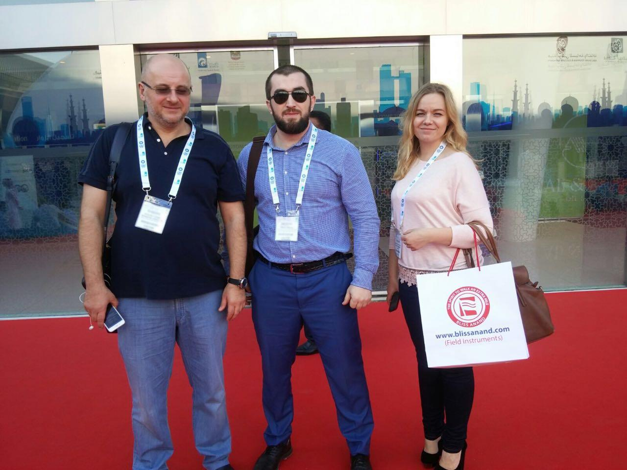NNIAT specialists visited the international oil exhibition ADIPEC in Abu-Dabi, UAE