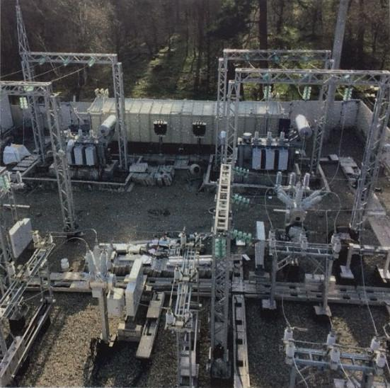 The main working stage of electrical substation reconstruction and extension is completed