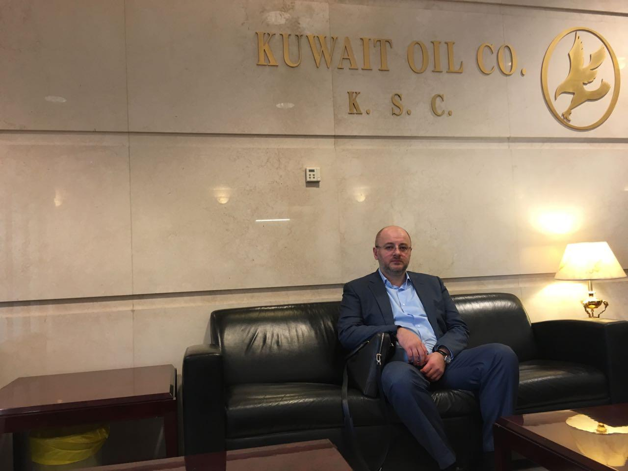 NNIAT Founder at the meeting with Kuwait Oil Company