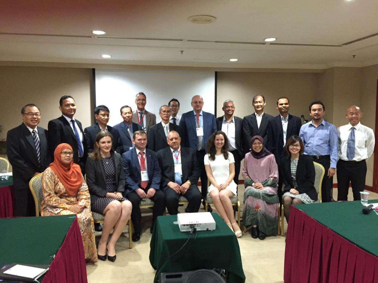 Participation of NNIAT management team in the business mission to the ASEAN member-states headed by the minister of economic development of the Russian Federation Ulyukaev Aleksey