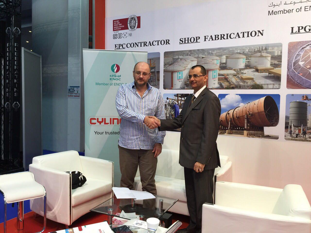 The company's specialists visited international exhibition ADIPEC