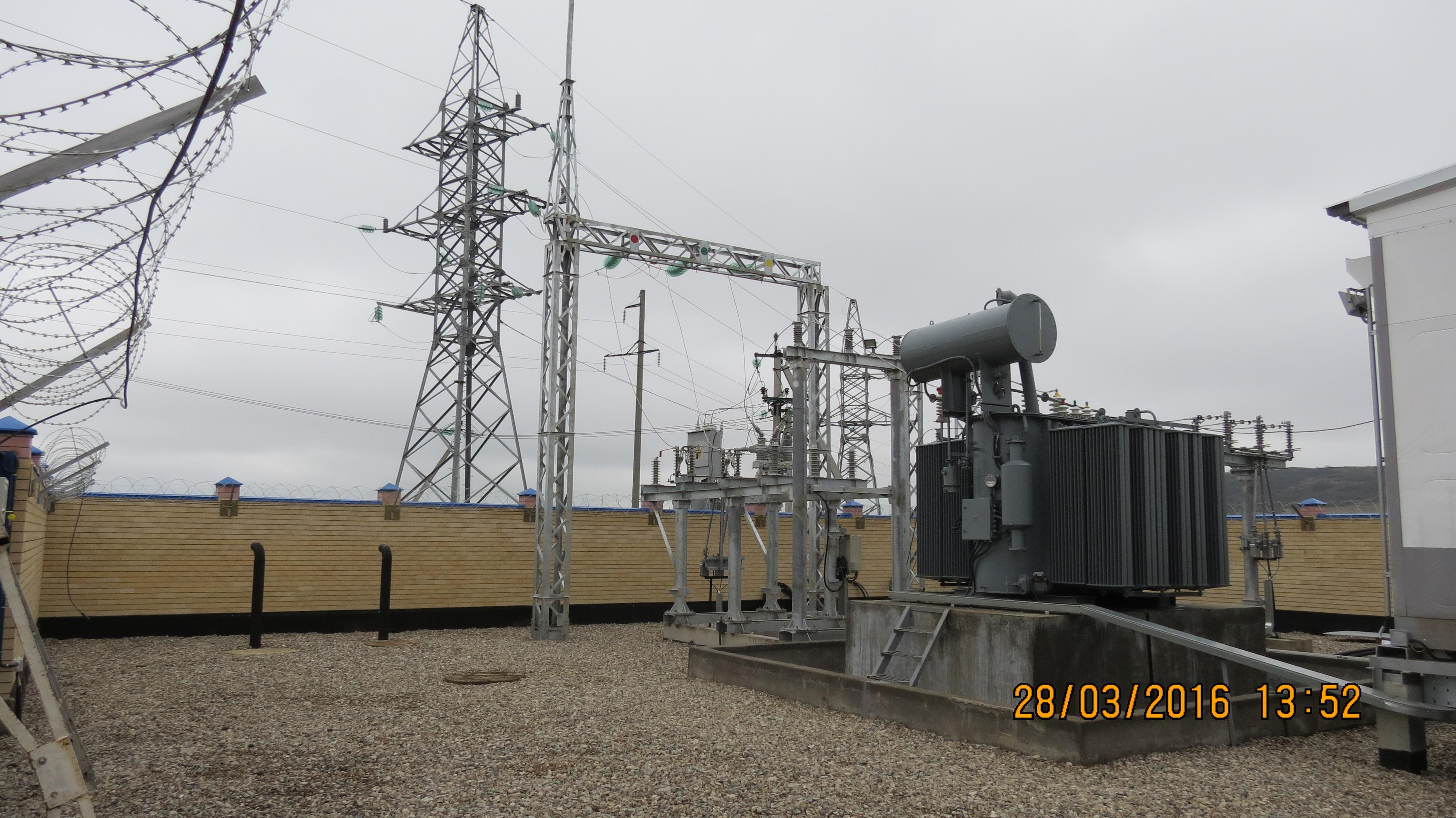Branch office of Nizhny Novgorod Institute of Applied Technologies in Kislovodsk, which won the tender on new power center of electrical substation PS 35/10 Lenta (HV line 35, 10 kW) construction, is carrying out works on the site