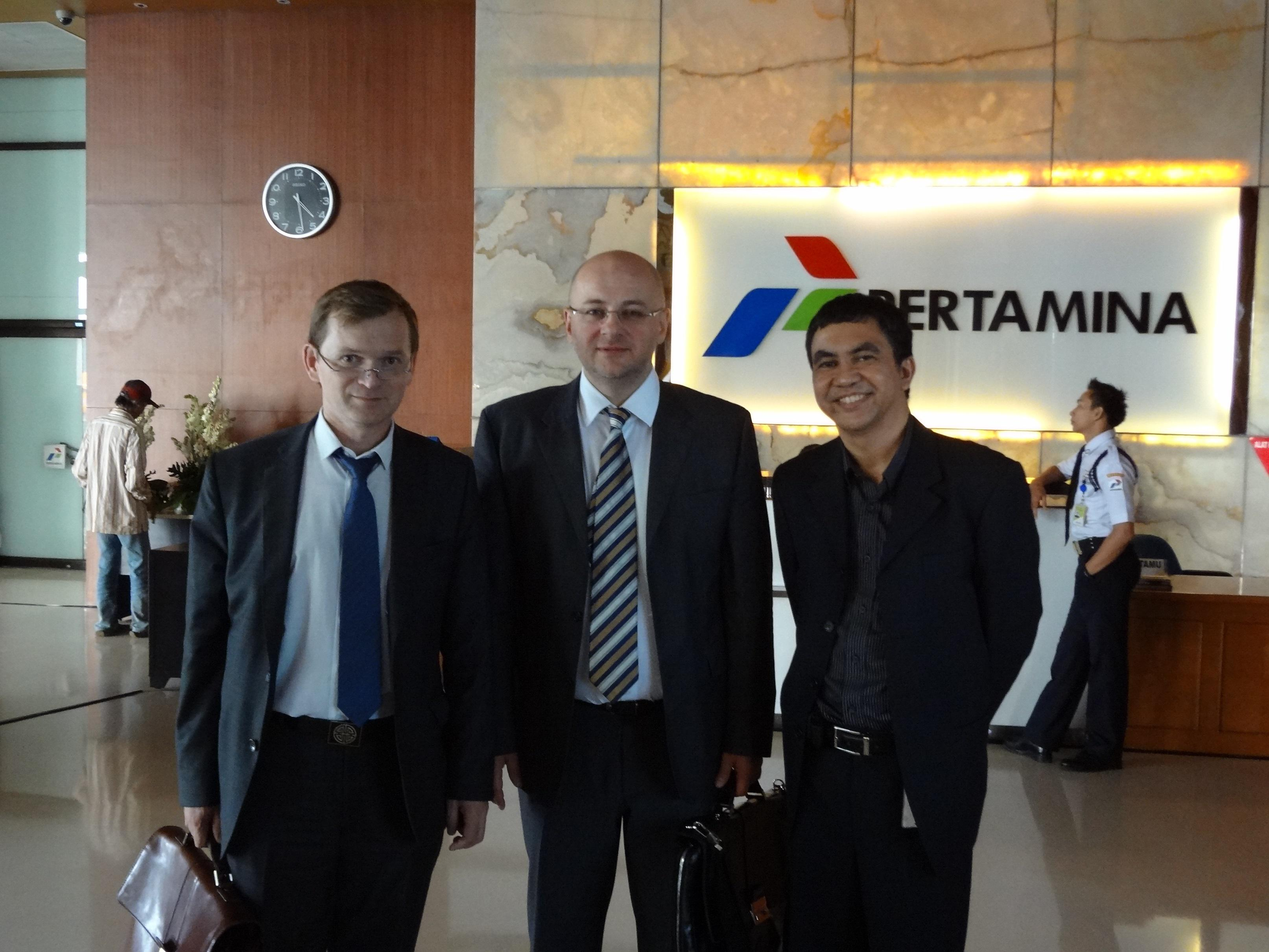 Participation of the company's management on the deleagion of Russia-ASEAN business council to Indonesia