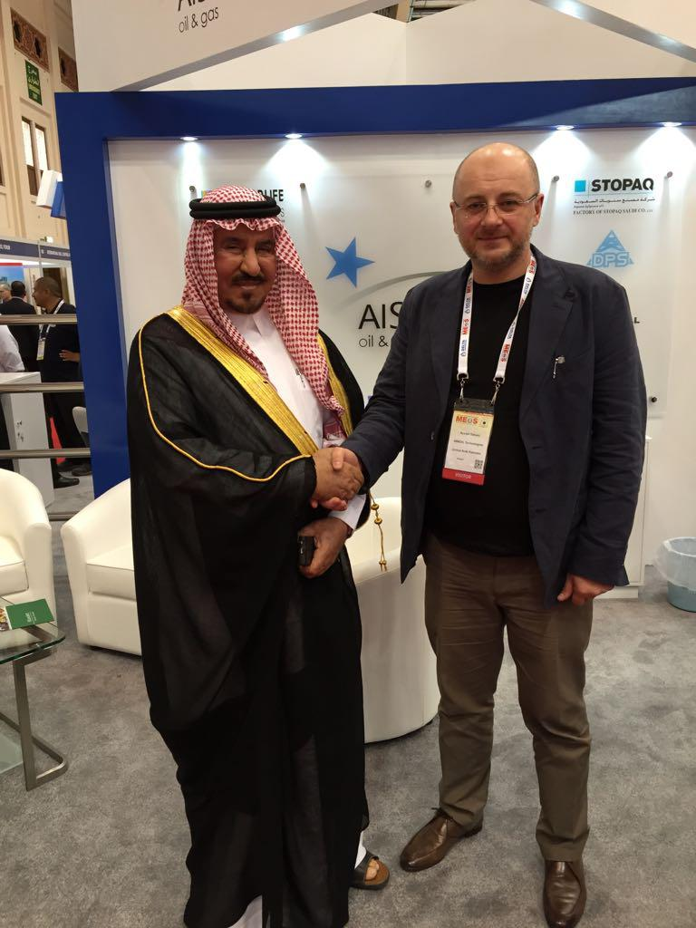Participation of the company's management in IXX Middle East oil&gas show and conference MEOS 2015 in Manama, Bahrain