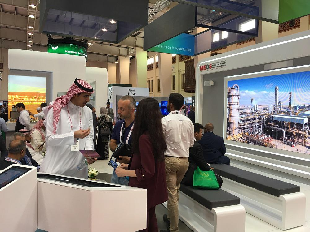 NNIAT representatives visit the International Middle East Oil and Gas Show and Conference MEOS 2019