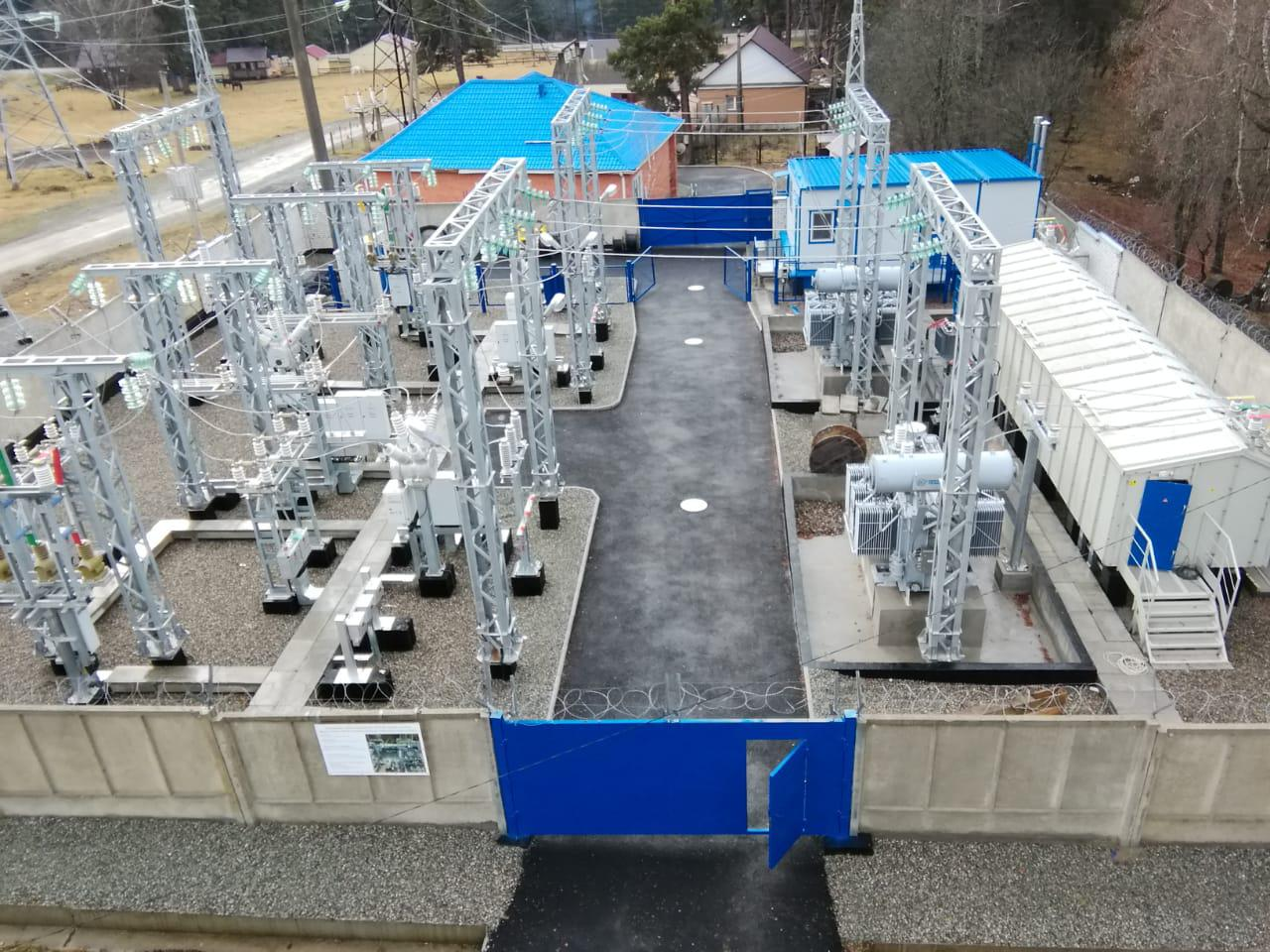 Expansion and reconstruction of substation 35/10 KW in ARKHYZ