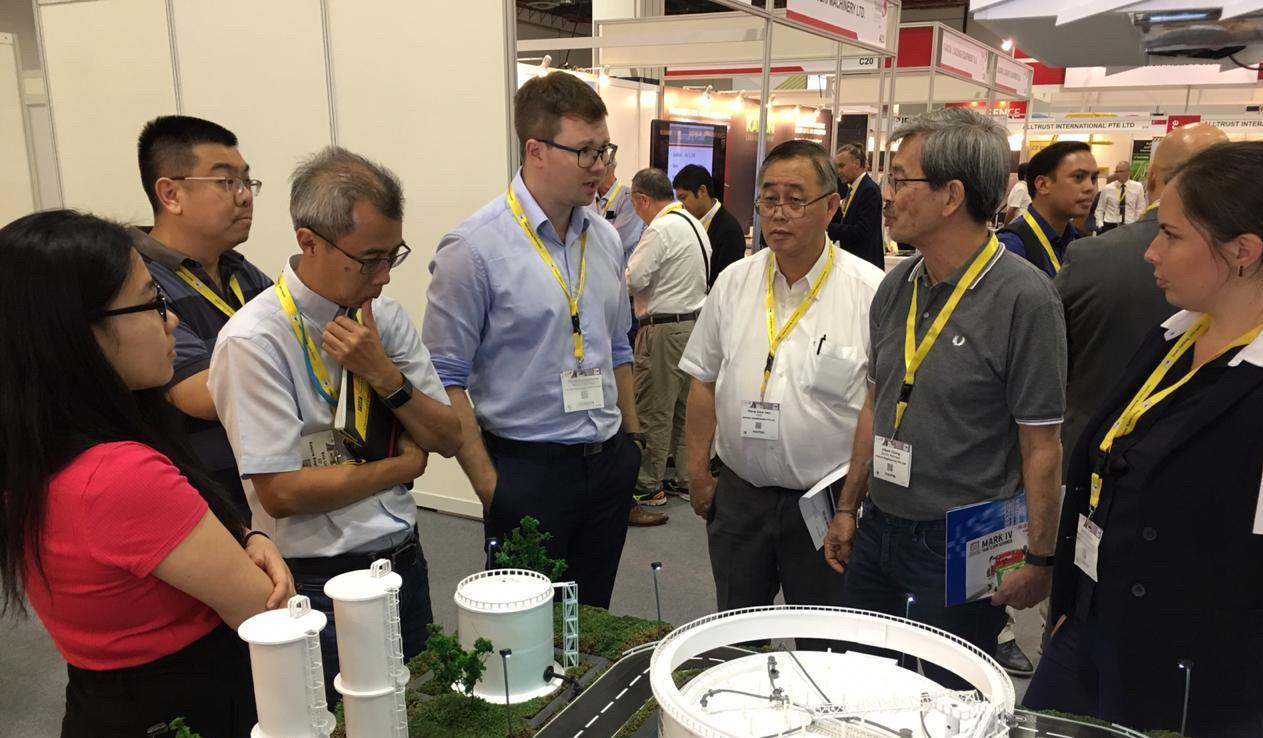 NNIAT specialists participate in TANK STORAGE ASIA annual exhibition