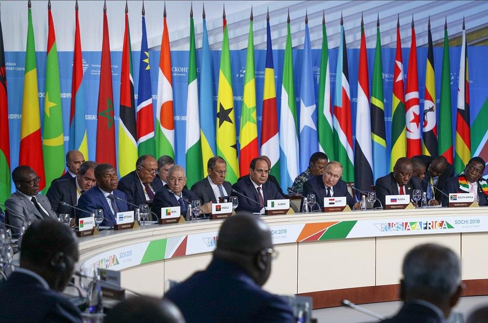 Management of the company participates in RUSSIA–AFRICA summit in Sochi, 2019