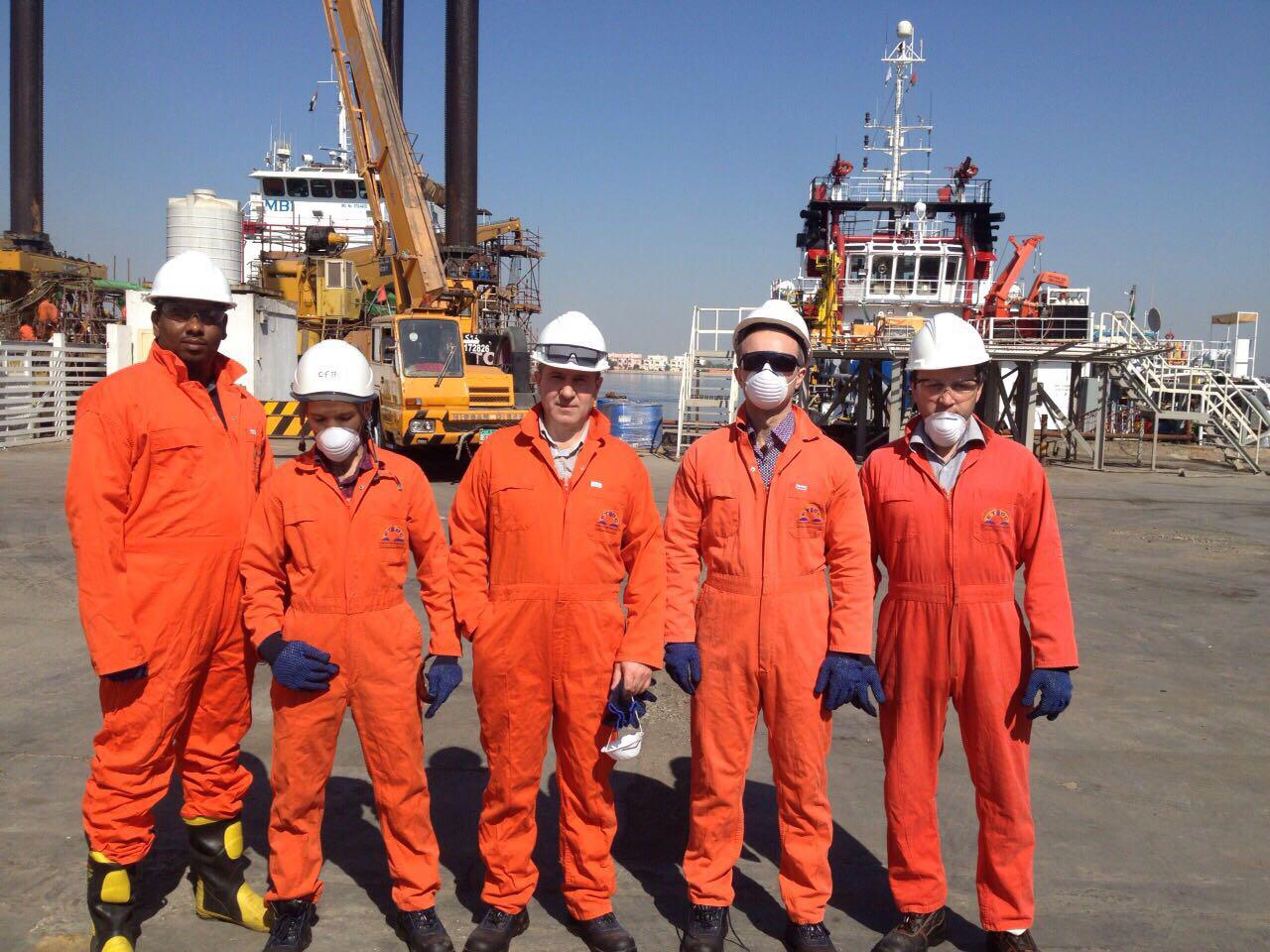 Participation of the company's personnel in a training in industrial safety and labor protection in UAE